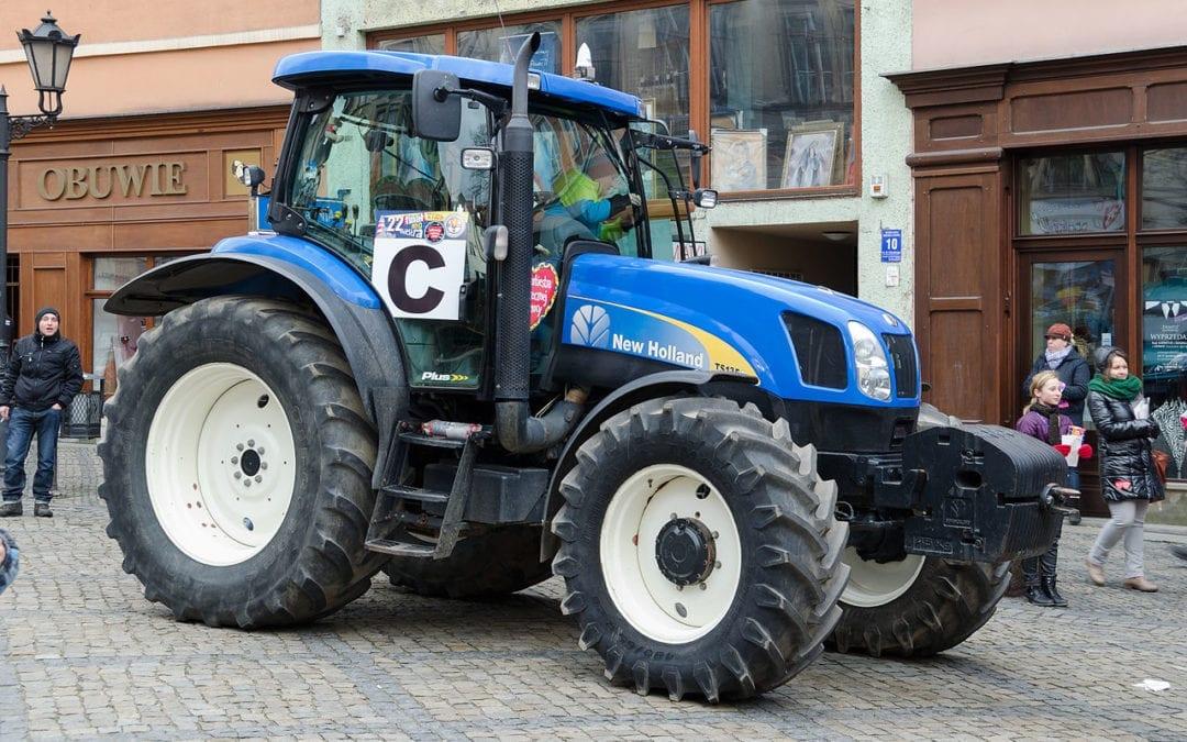 Rośnie liczba nowych ciągników rolniczych