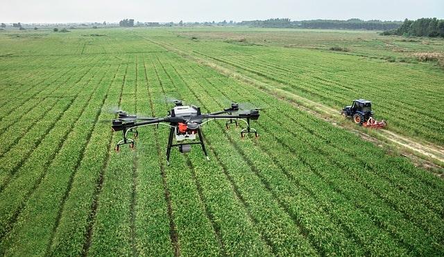 Wykorzystanie dronów w rolnictwie